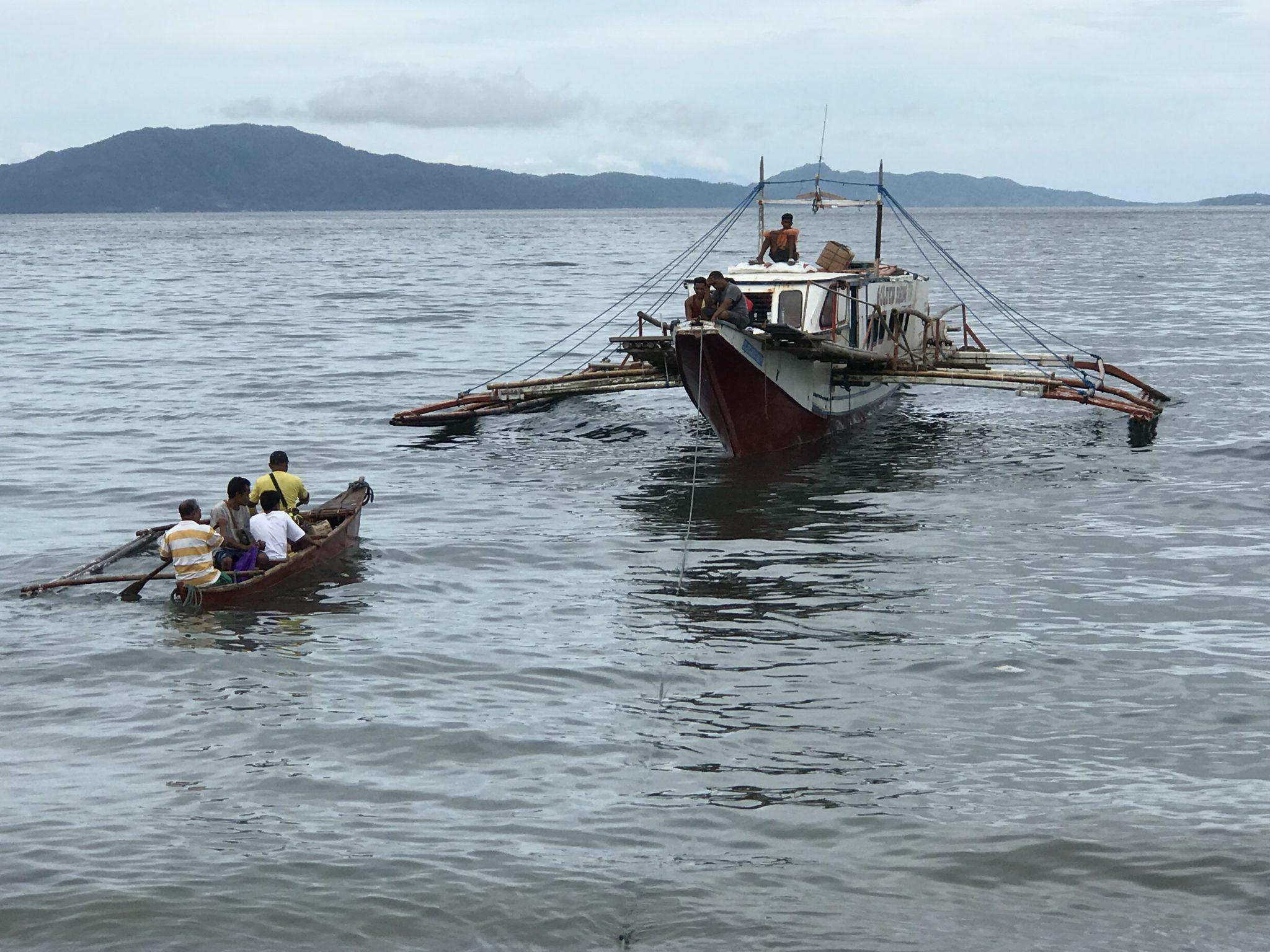Überfahrt von Batangas zur Isla Verde